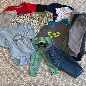 Discount Bundle Size 9 Months Baby Boy's Clothing